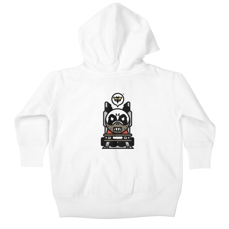 Chainsaw Panda Cannibal Kids Baby Zip-Up Hoody by pause's Artist Shop