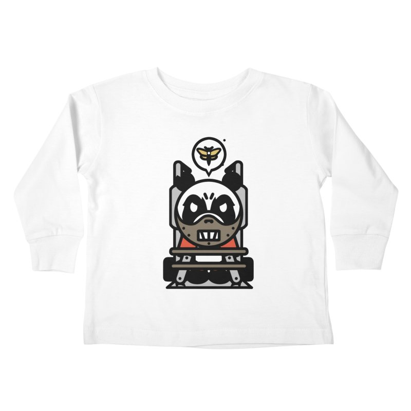 Chainsaw Panda Cannibal Kids Toddler Longsleeve T-Shirt by pause's Artist Shop