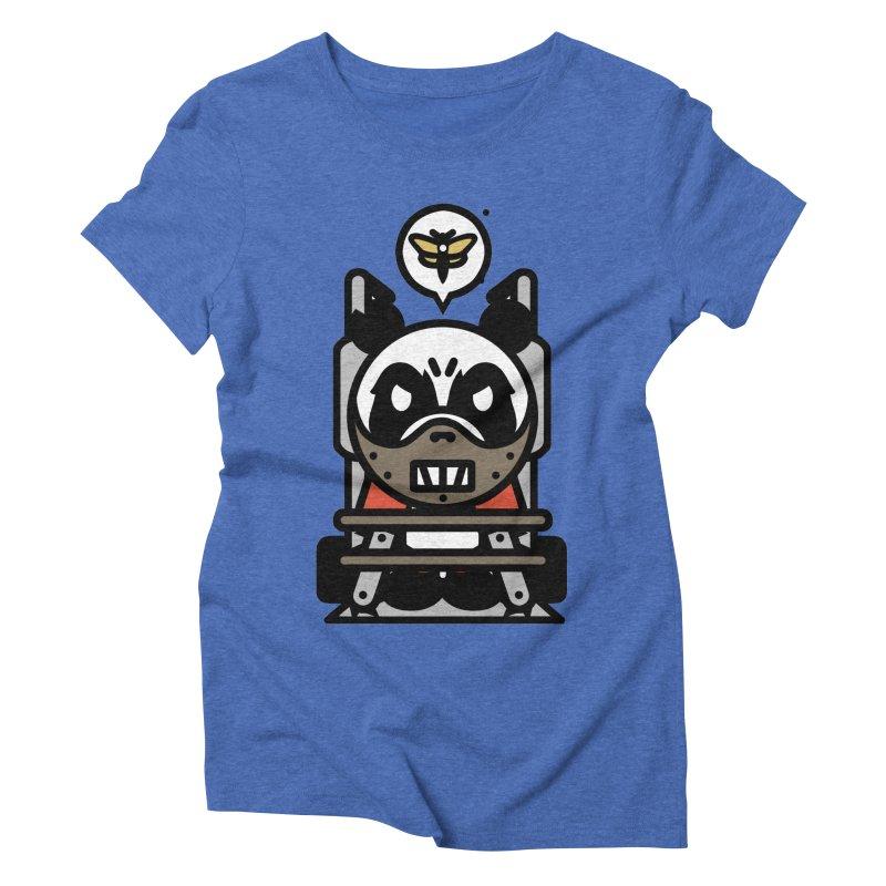 Chainsaw Panda Cannibal Women's Triblend T-Shirt by pause's Artist Shop