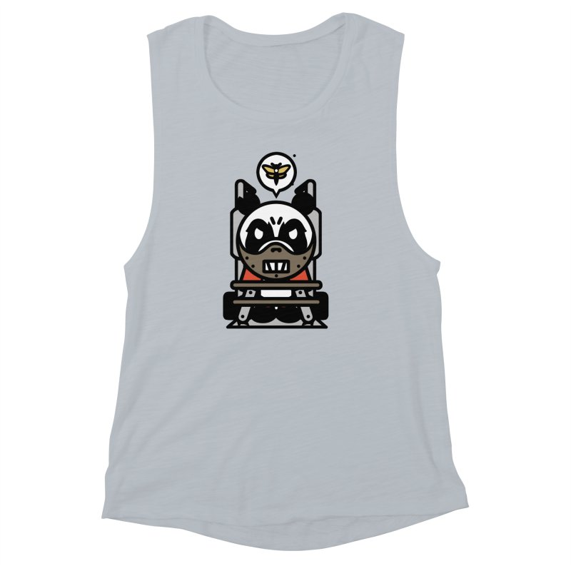 Chainsaw Panda Cannibal Women's Muscle Tank by pause's Artist Shop