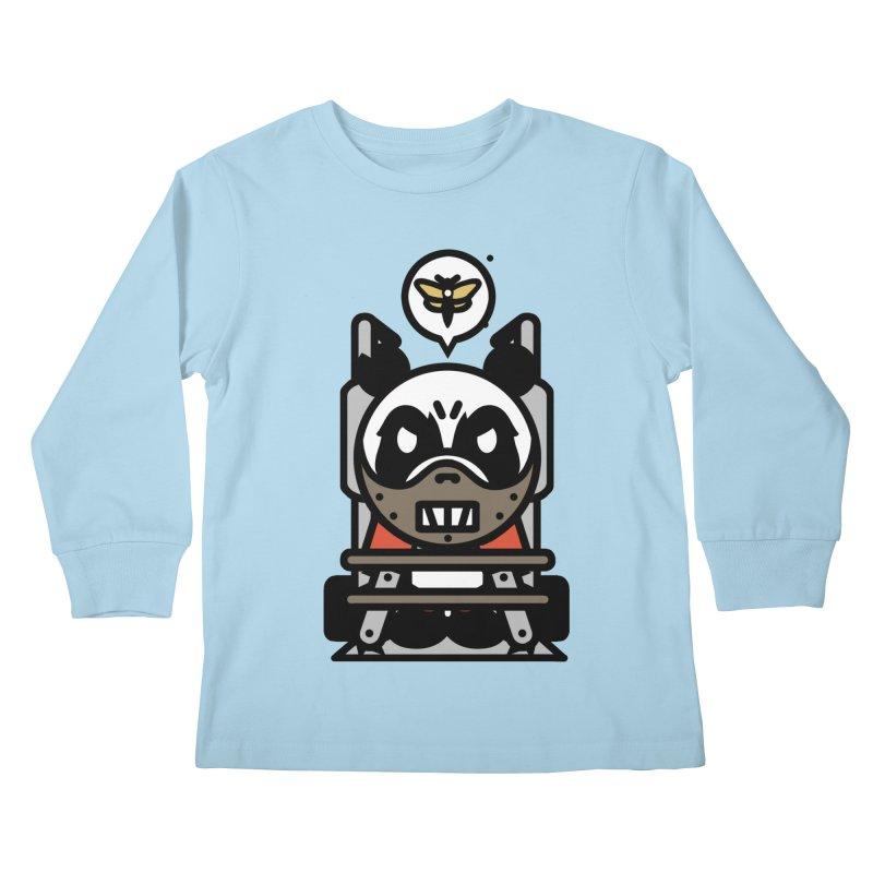 Chainsaw Panda Cannibal Kids Longsleeve T-Shirt by pause's Artist Shop