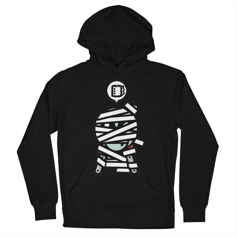 Chainsaw Panda Mummy Women's Pullover Hoody by pause's Artist Shop