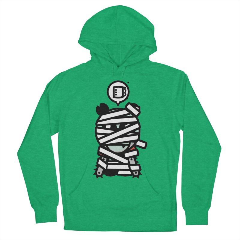 Chainsaw Panda Mummy Men's Pullover Hoody by pause's Artist Shop
