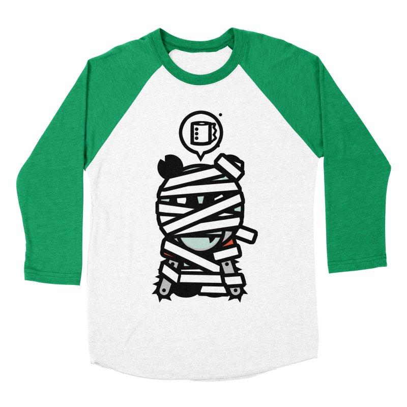 Chainsaw Panda Mummy Men's Baseball Triblend T-Shirt by pause's Artist Shop