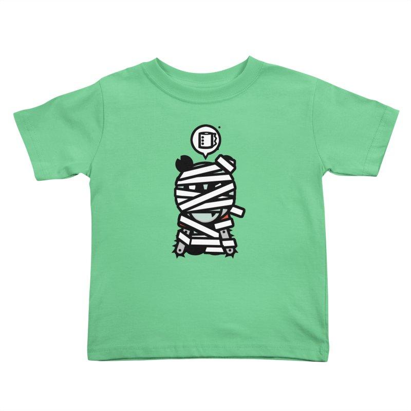 Chainsaw Panda Mummy Kids Toddler T-Shirt by pause's Artist Shop