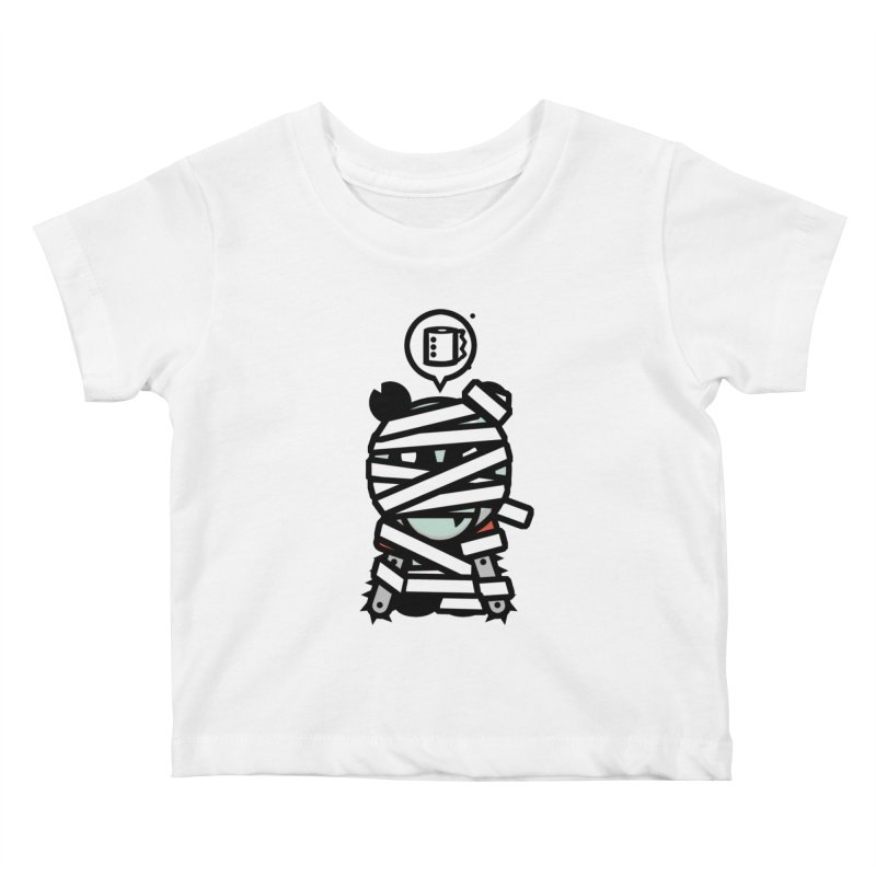 Chainsaw Panda Mummy Kids Baby T-Shirt by pause's Artist Shop