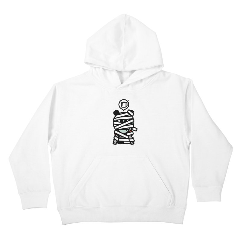 Chainsaw Panda Mummy Kids Pullover Hoody by pause's Artist Shop