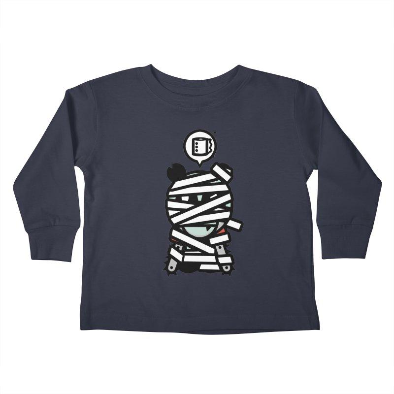 Chainsaw Panda Mummy Kids Toddler Longsleeve T-Shirt by pause's Artist Shop