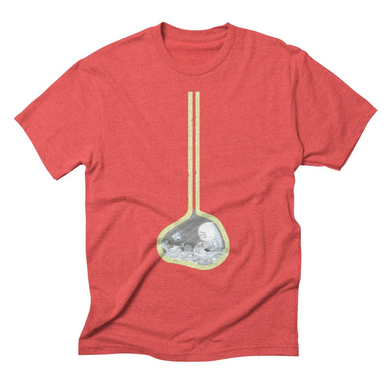 Indigestion Men's Triblend T-shirt by pause's Artist Shop