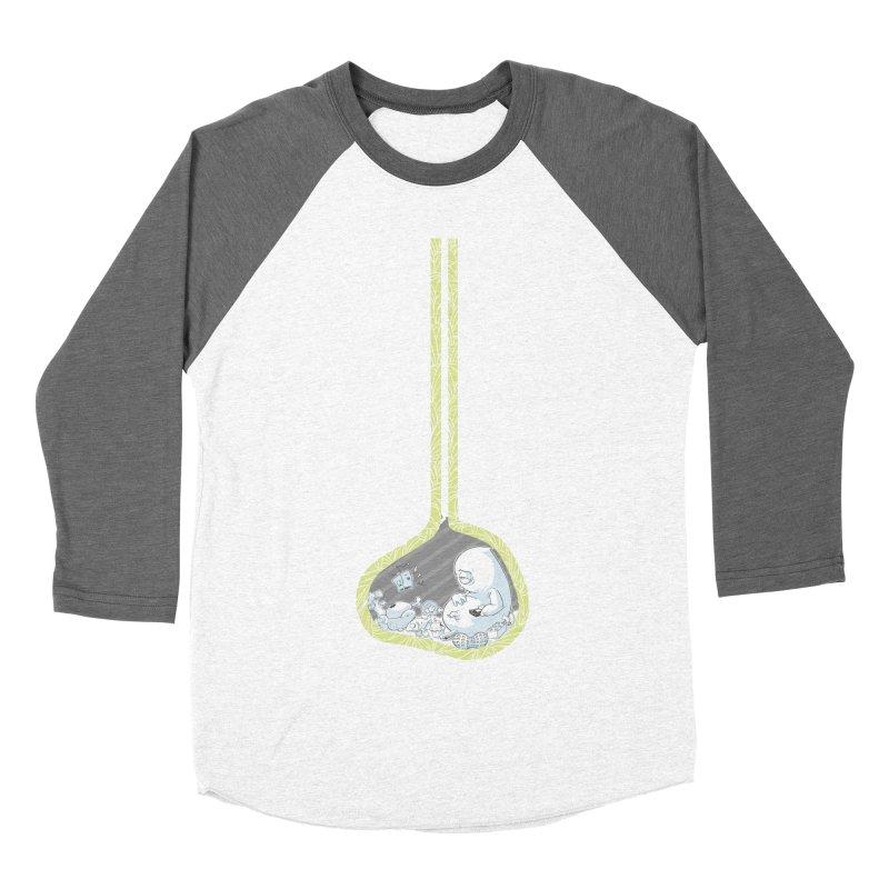 Indigestion Men's Baseball Triblend T-Shirt by pause's Artist Shop