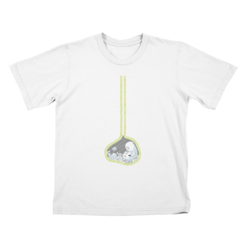 Indigestion Kids T-shirt by pause's Artist Shop