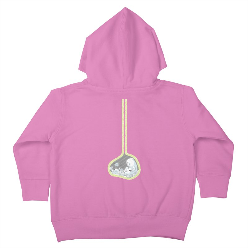 Indigestion Kids Toddler Zip-Up Hoody by pause's Artist Shop