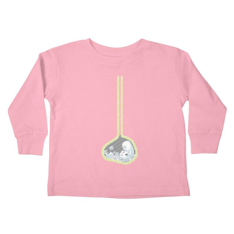 Indigestion Kids Toddler Longsleeve T-Shirt by pause's Artist Shop