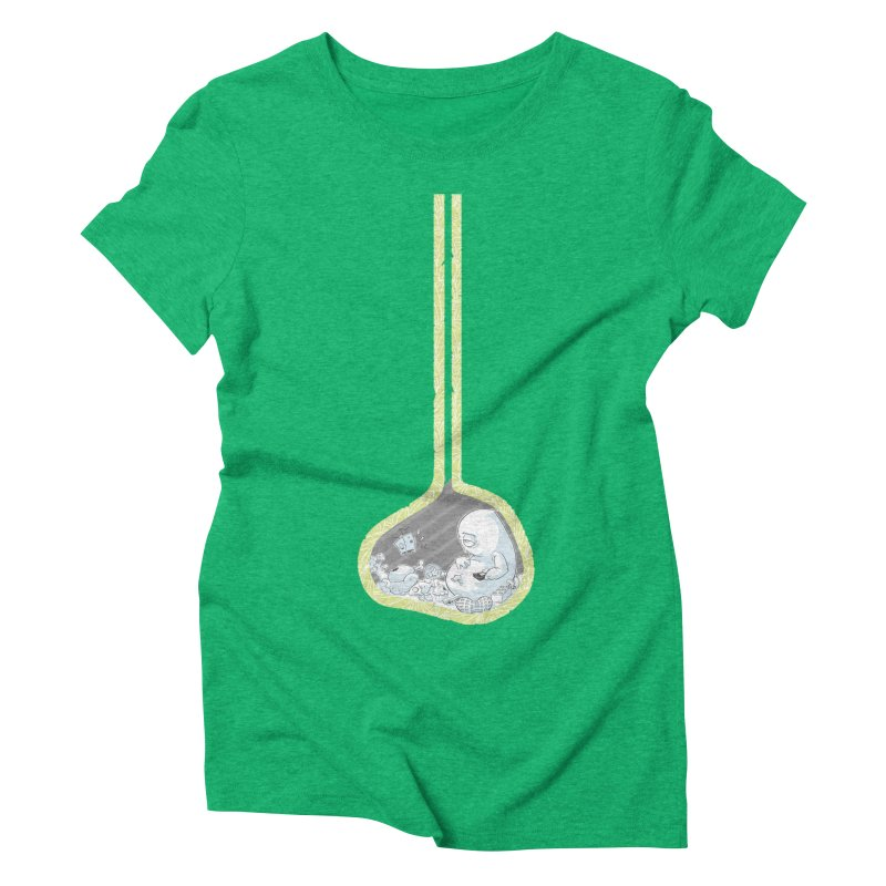 Indigestion Women's Triblend T-Shirt by pause's Artist Shop