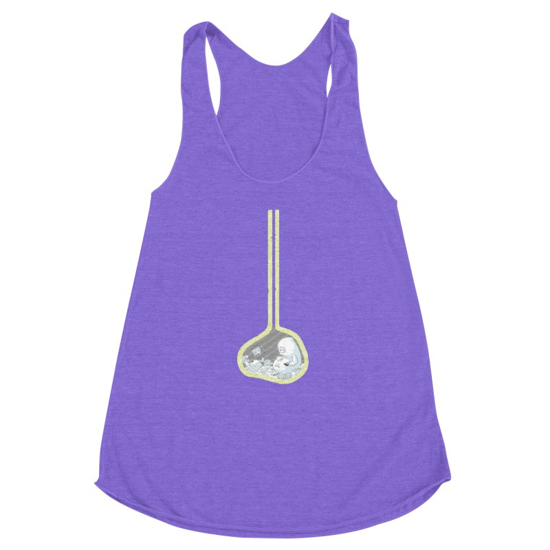Indigestion Women's Racerback Triblend Tank by pause's Artist Shop