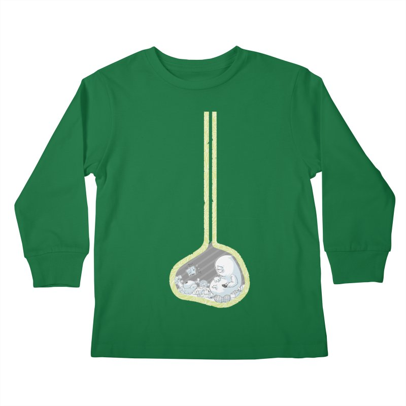 Indigestion Kids Longsleeve T-Shirt by pause's Artist Shop
