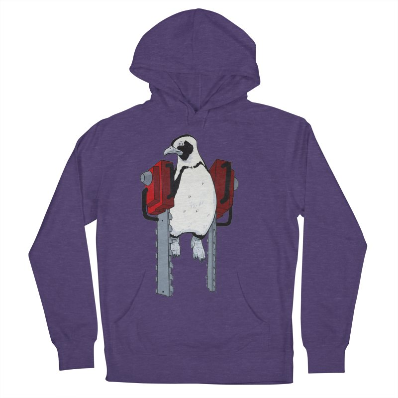 Chainsaw Penguin Men's Pullover Hoody by pause's Artist Shop