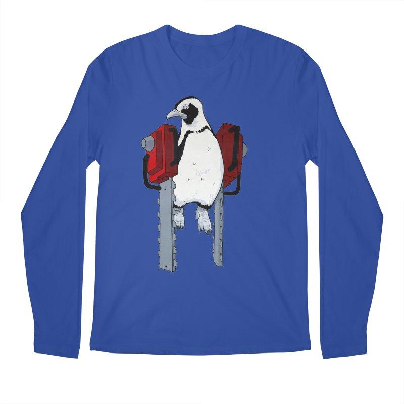Chainsaw Penguin Men's Longsleeve T-Shirt by pause's Artist Shop