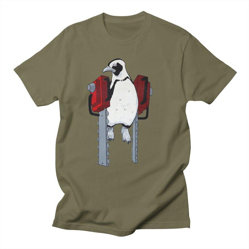 Chainsaw Penguin Men's T-Shirt by pause's Artist Shop