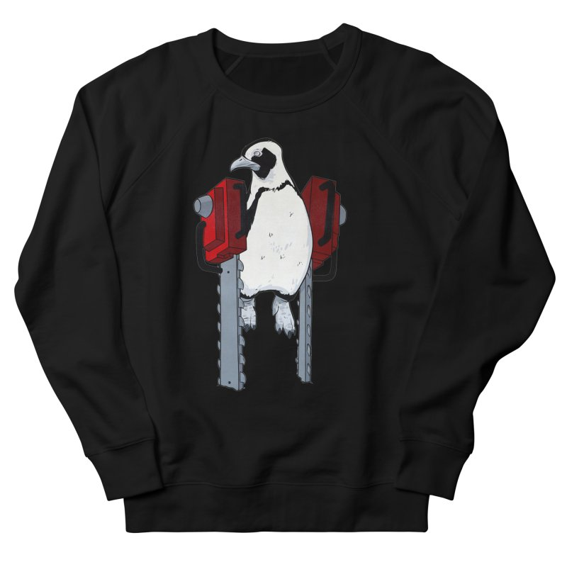 Chainsaw Penguin Women's Sweatshirt by pause's Artist Shop