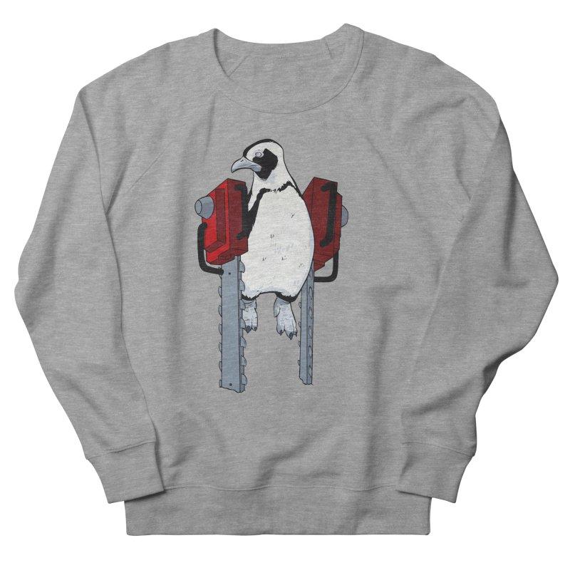 Chainsaw Penguin Men's Sweatshirt by pause's Artist Shop
