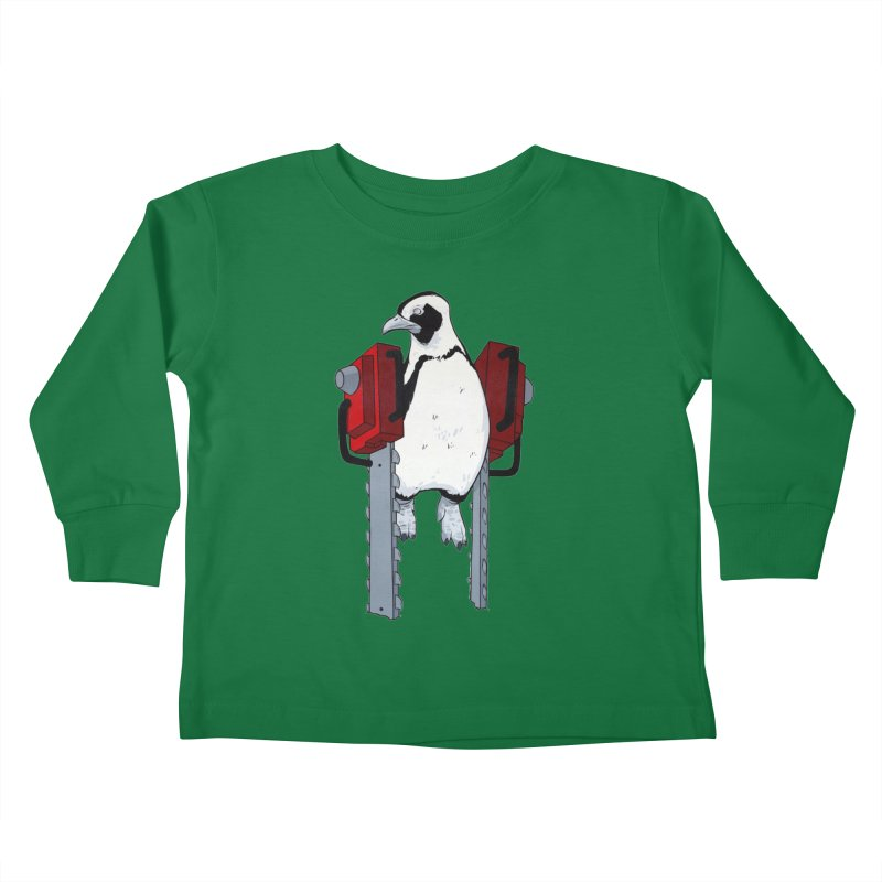 Chainsaw Penguin Kids Toddler Longsleeve T-Shirt by pause's Artist Shop