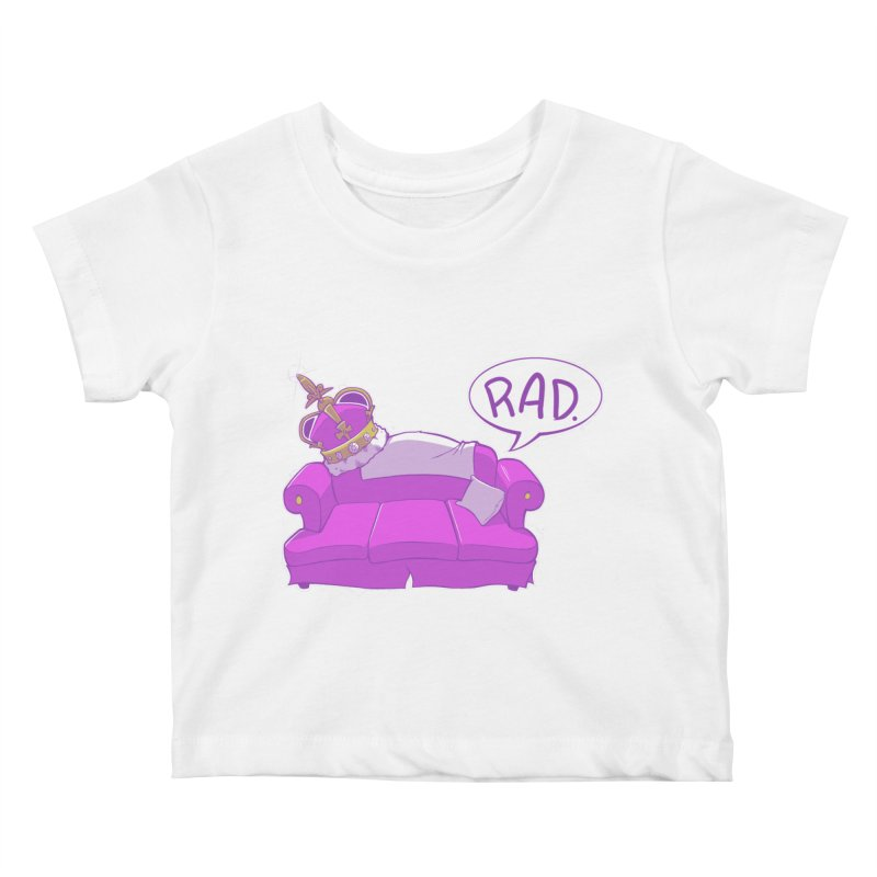 Sofa King Rad Kids Baby T-Shirt by pause's Artist Shop