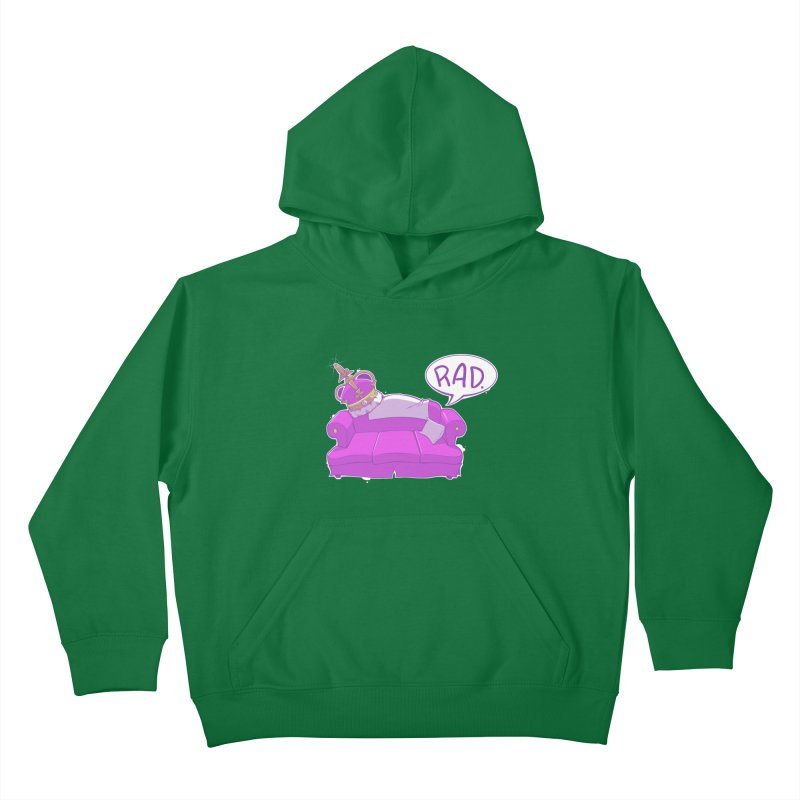 Sofa King Rad Kids Pullover Hoody by pause's Artist Shop