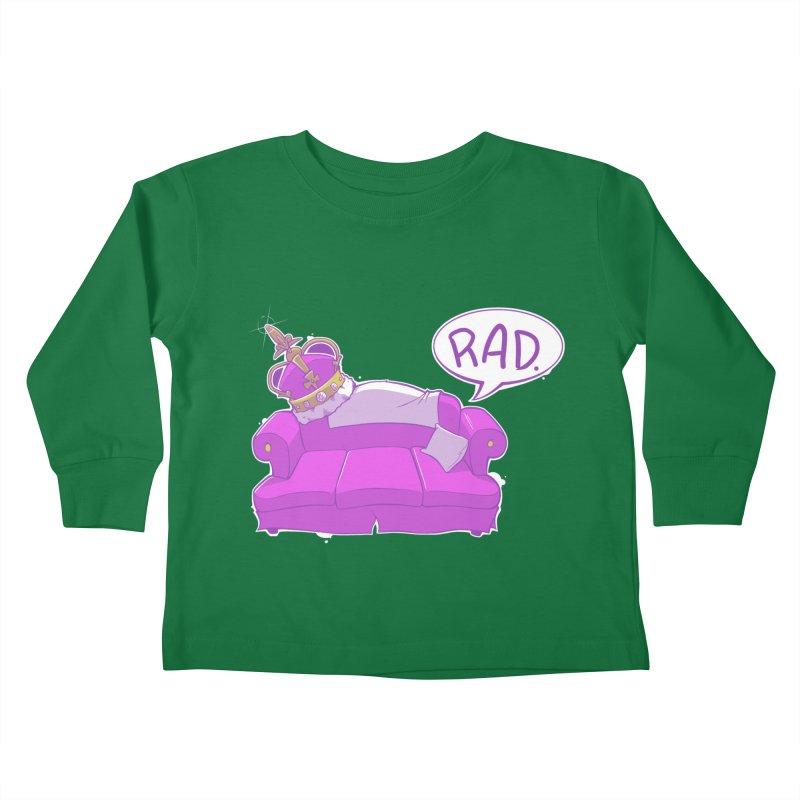 Sofa King Rad Kids Toddler Longsleeve T-Shirt by pause's Artist Shop