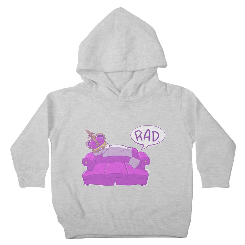 Sofa King Rad Kids Toddler Pullover Hoody by pause's Artist Shop