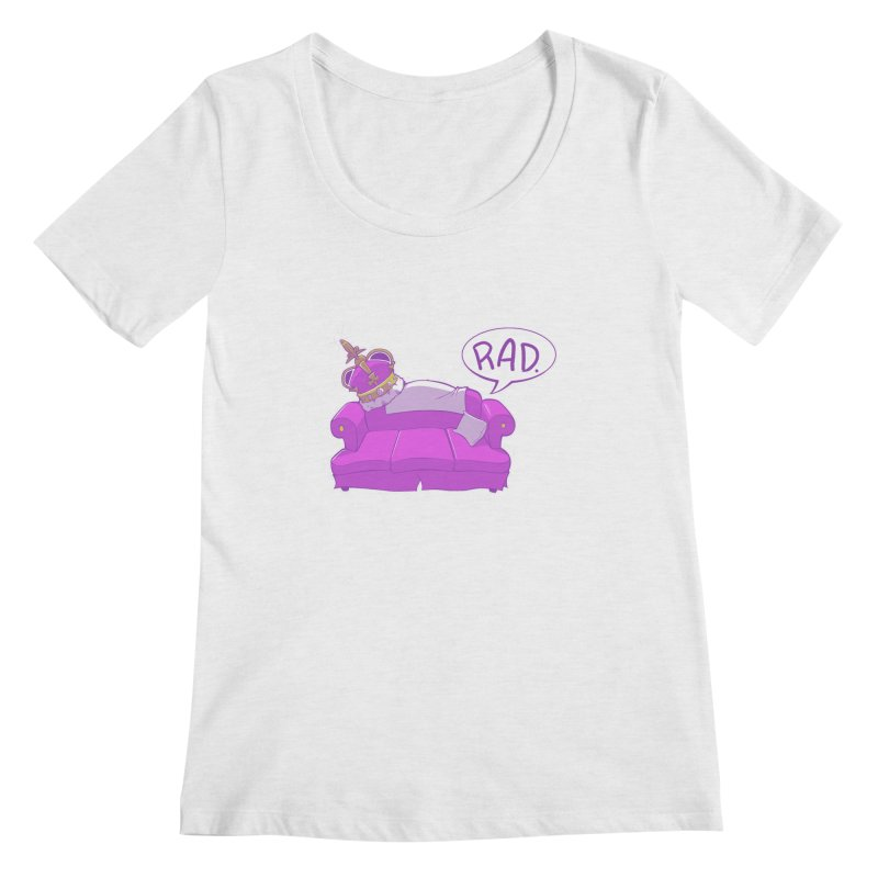 Sofa King Rad Women's Scoopneck by pause's Artist Shop