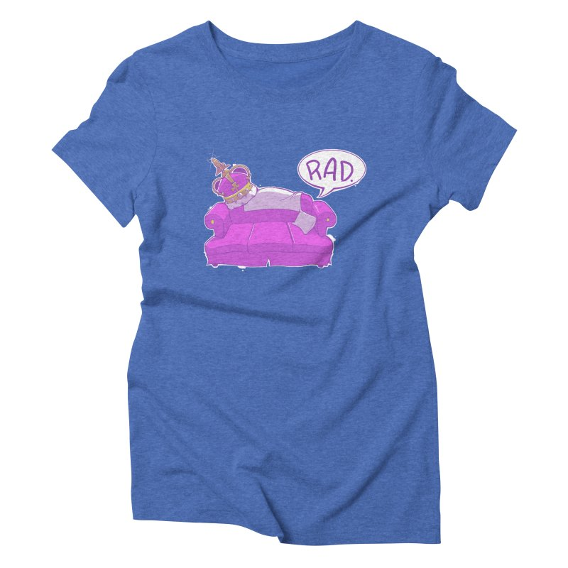 Sofa King Rad Women's Triblend T-shirt by pause's Artist Shop