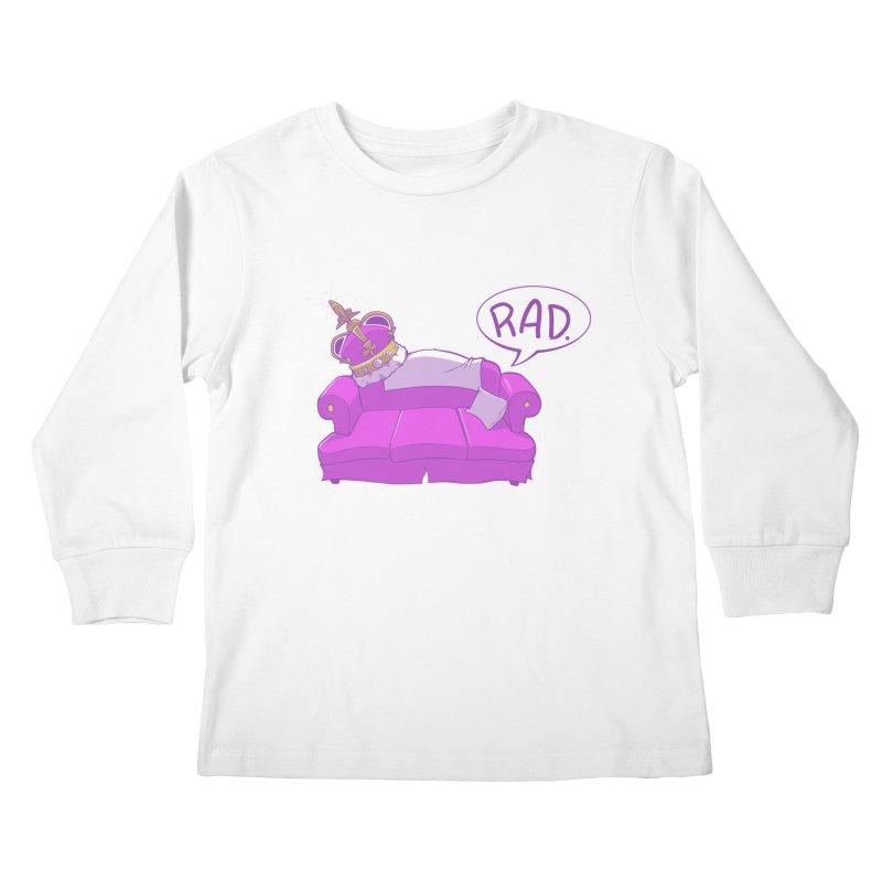 Sofa King Rad Kids Longsleeve T-Shirt by pause's Artist Shop