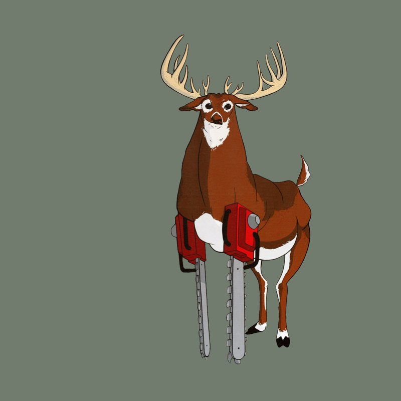 Chainsaw Deer by pause's Artist Shop