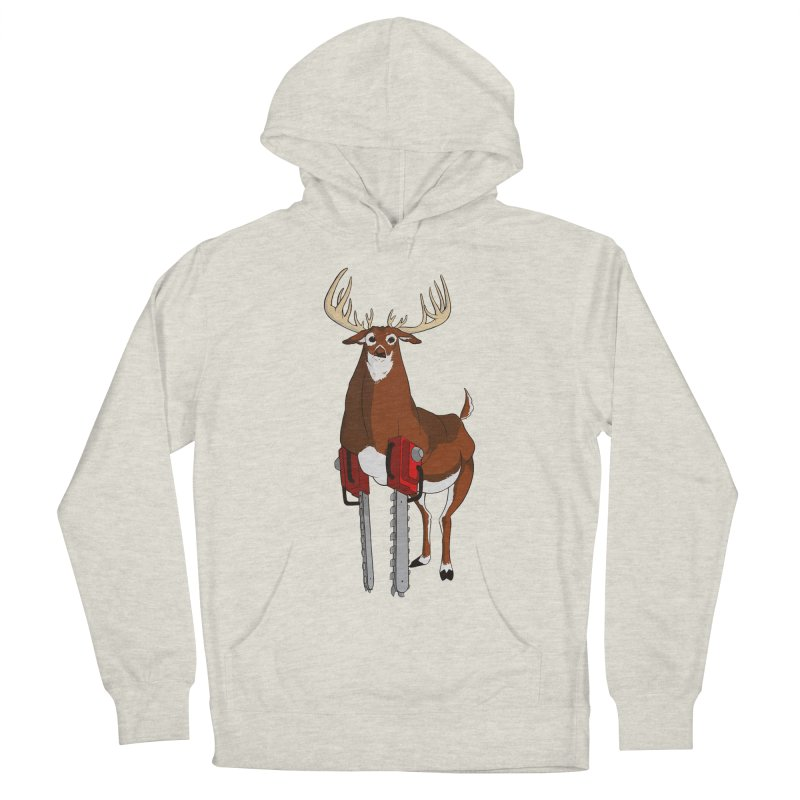 Chainsaw Deer Men's Pullover Hoody by pause's Artist Shop