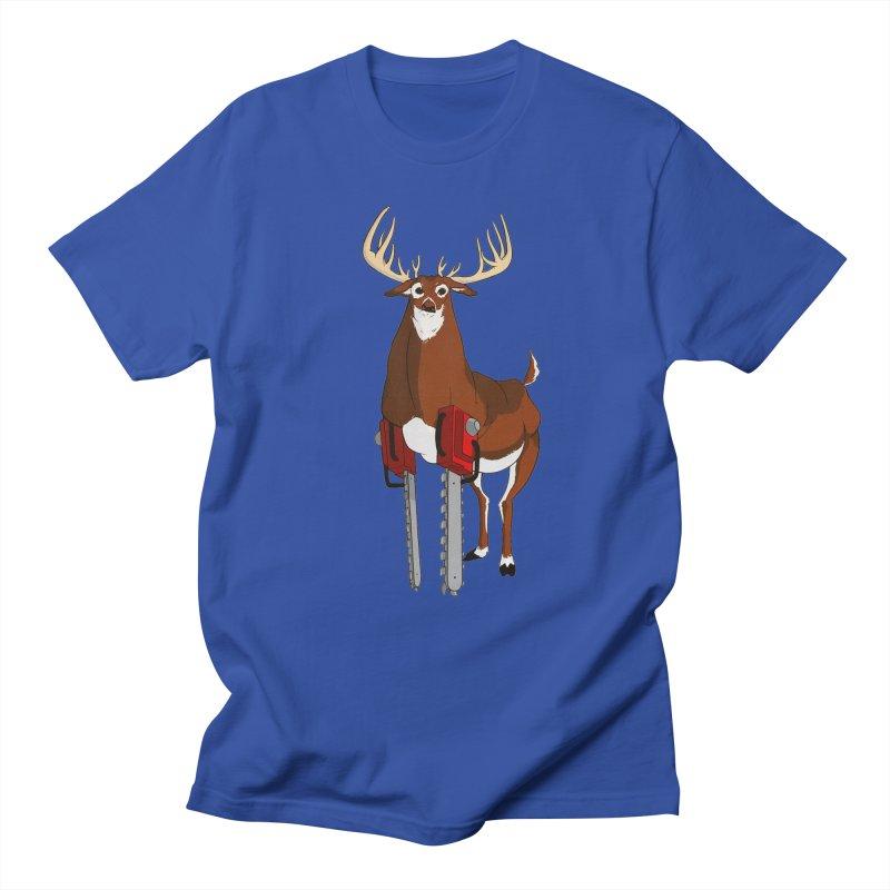 Chainsaw Deer Men's T-shirt by pause's Artist Shop