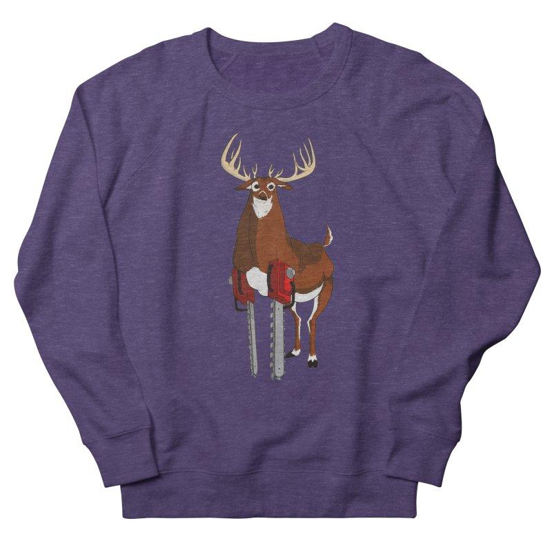 Chainsaw Deer Women's Sweatshirt by pause's Artist Shop