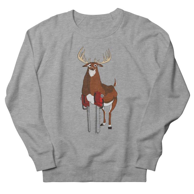 Chainsaw Deer Men's Sweatshirt by pause's Artist Shop