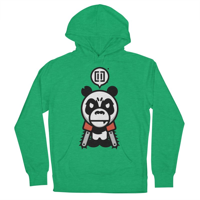 Cute Chainsaw Panda Women's Pullover Hoody by pause's Artist Shop