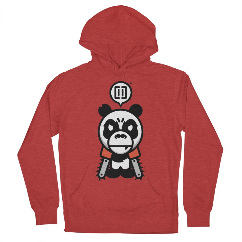 Cute Chainsaw Panda Men's Pullover Hoody by pause's Artist Shop