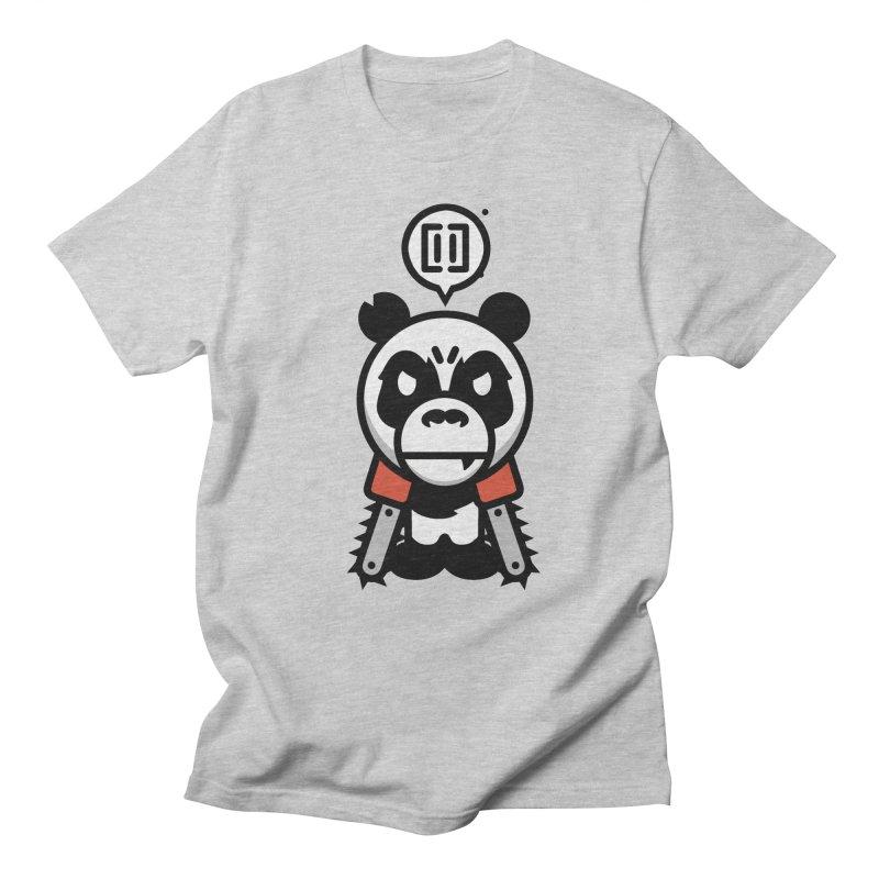 Cute Chainsaw Panda Men's T-Shirt by pause's Artist Shop