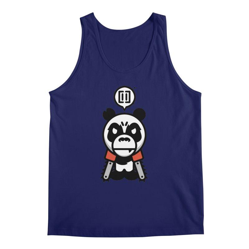 Cute Chainsaw Panda Men's Tank by pause's Artist Shop