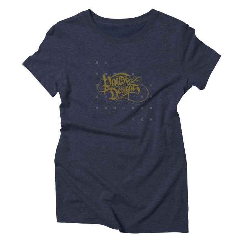 The Ambassador Women's Triblend T-shirt by pause's Artist Shop