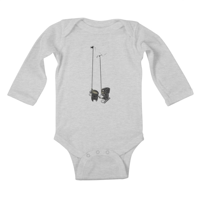 A Little TOO Raph Kids Baby Longsleeve Bodysuit by pause's Artist Shop