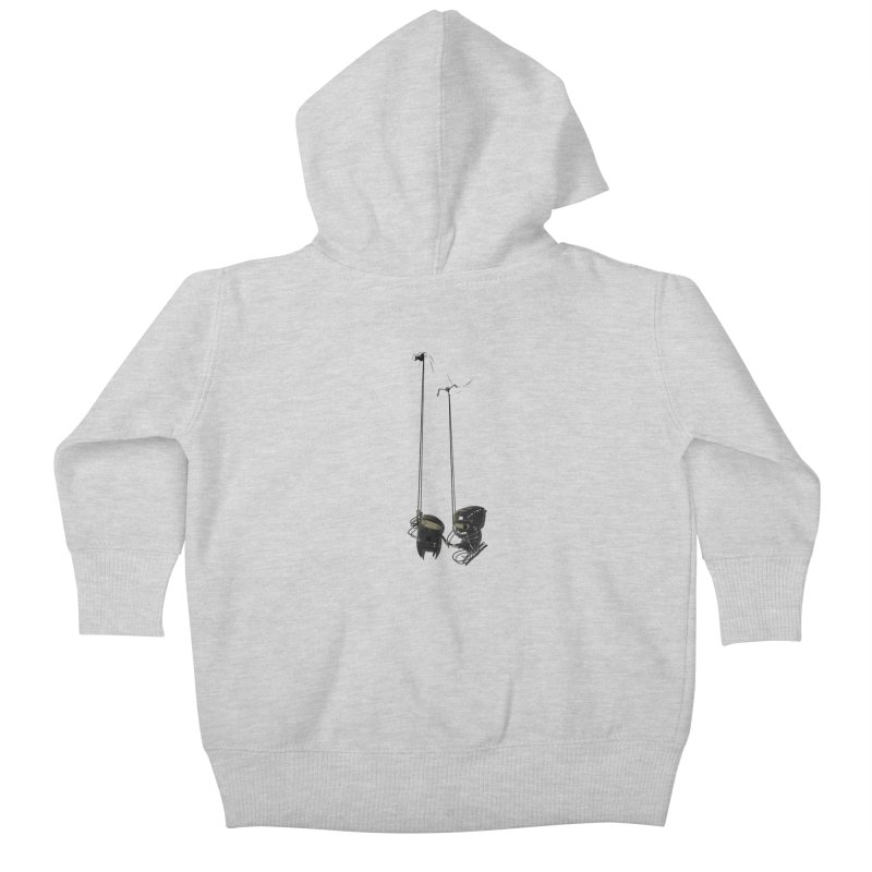 A Little TOO Raph Kids Baby Zip-Up Hoody by pause's Artist Shop