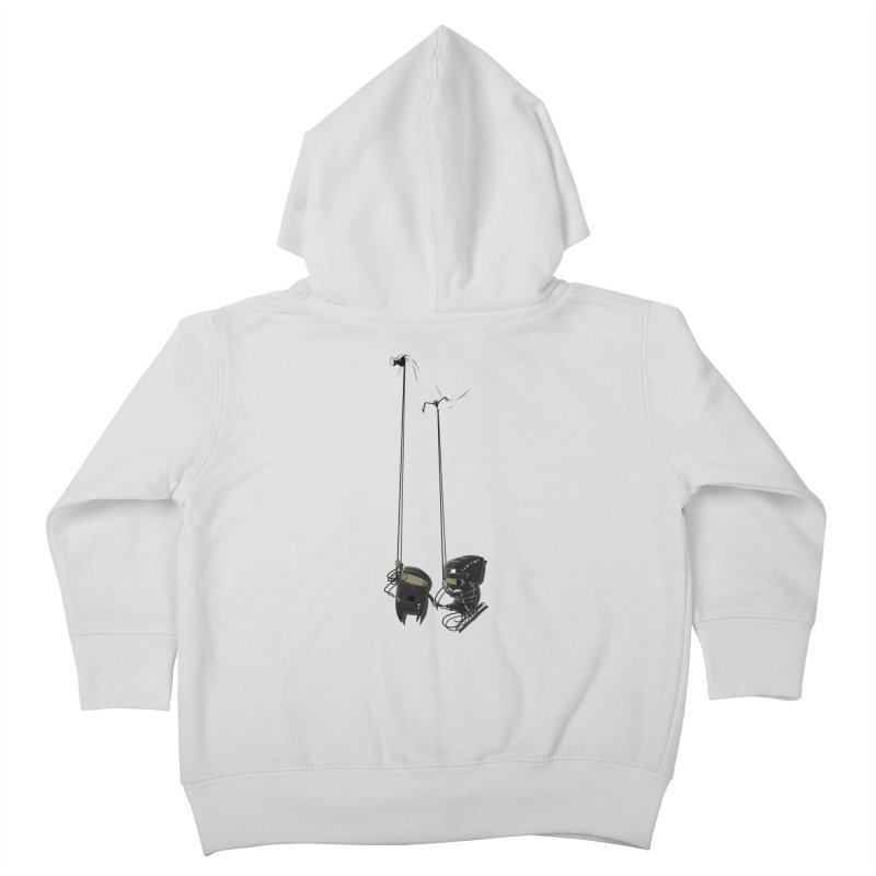 A Little TOO Raph Kids Toddler Zip-Up Hoody by pause's Artist Shop