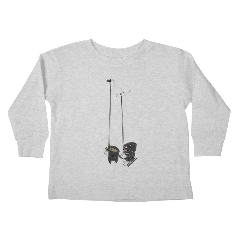 A Little TOO Raph Kids Toddler Longsleeve T-Shirt by pause's Artist Shop