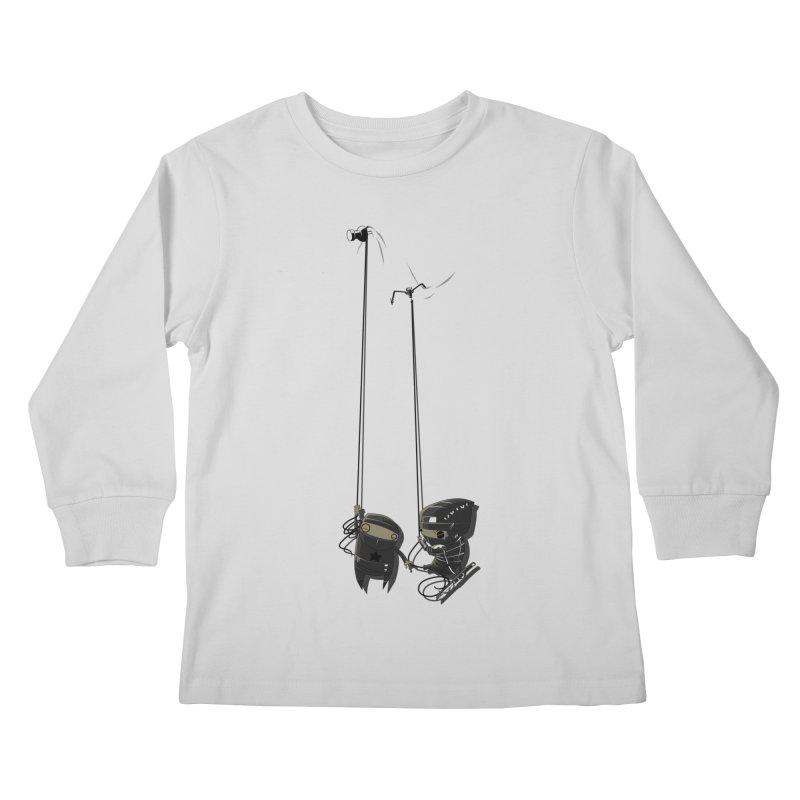 A Little TOO Raph Kids Longsleeve T-Shirt by pause's Artist Shop