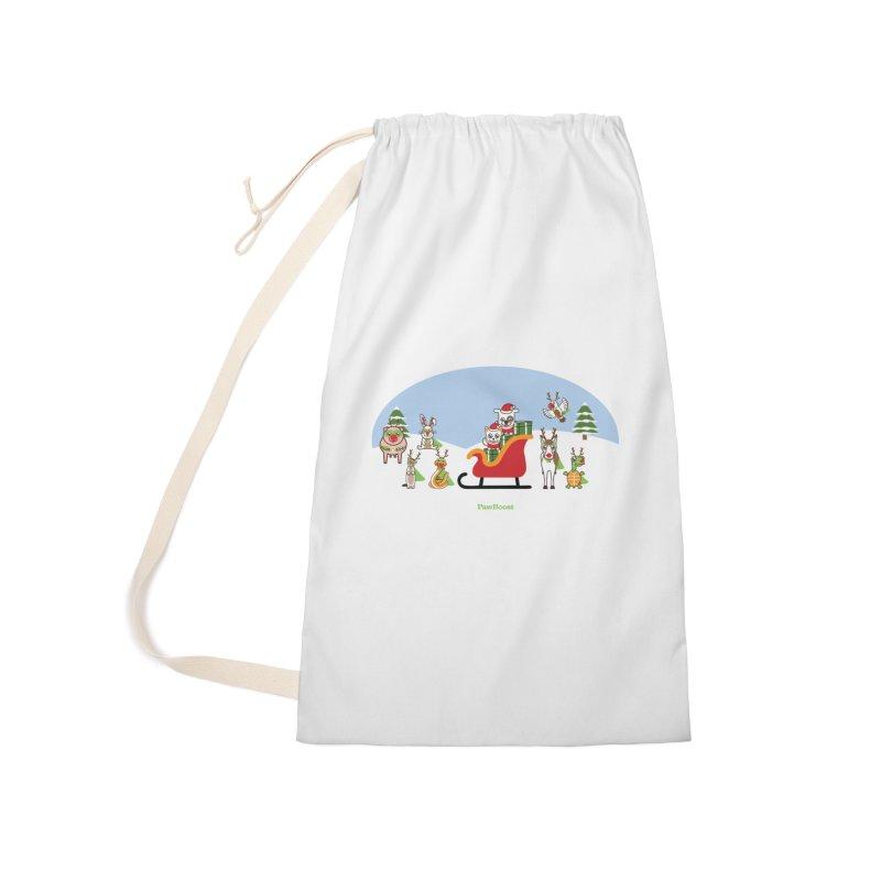 Santa Paws & Reindeer Accessories Bag by PawBoost's Shop