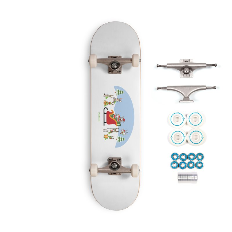 Santa Paws & Reindeer Accessories Complete - Basic Skateboard by PawBoost's Shop